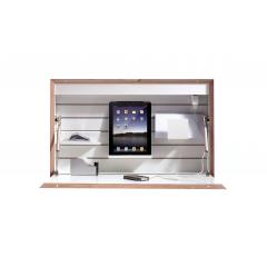Müller Möbelwerke-Flatbox-CPL weiß-Ansicht vorne-Schlafsofa Shop