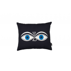 Vitra-Graphic Print Pillows Eyes-blau