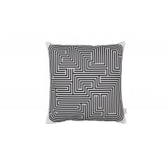 Graphic Print Pillows Maze