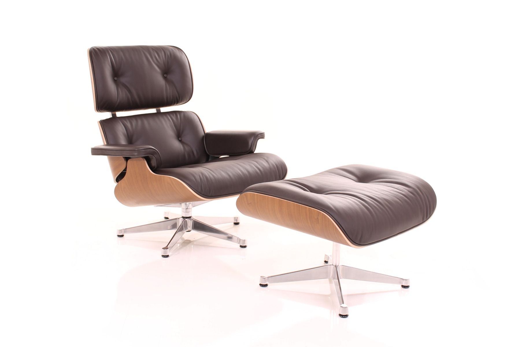 Brilliant Lounge Chair Nussbaum Schwarz Pigmentiert Creativecarmelina Interior Chair Design Creativecarmelinacom